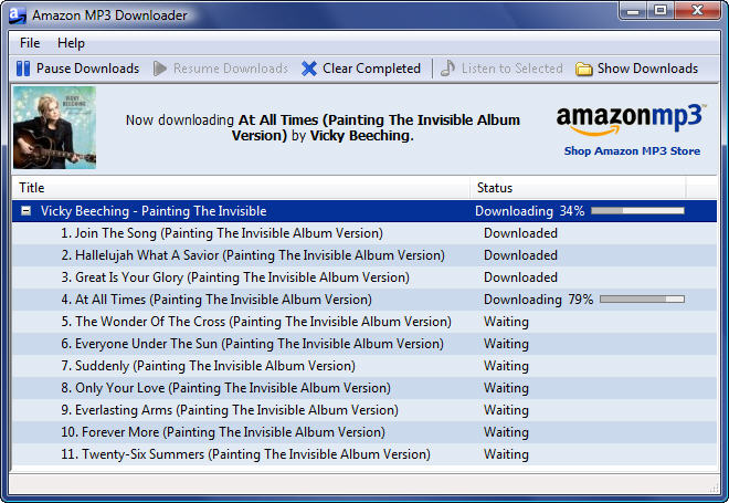 Current Version Plugin: Current Version Plugin Amazon MP3